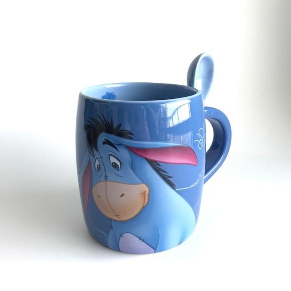 Eeyore Mug and Spoon Disneyland Paris  Exclusive